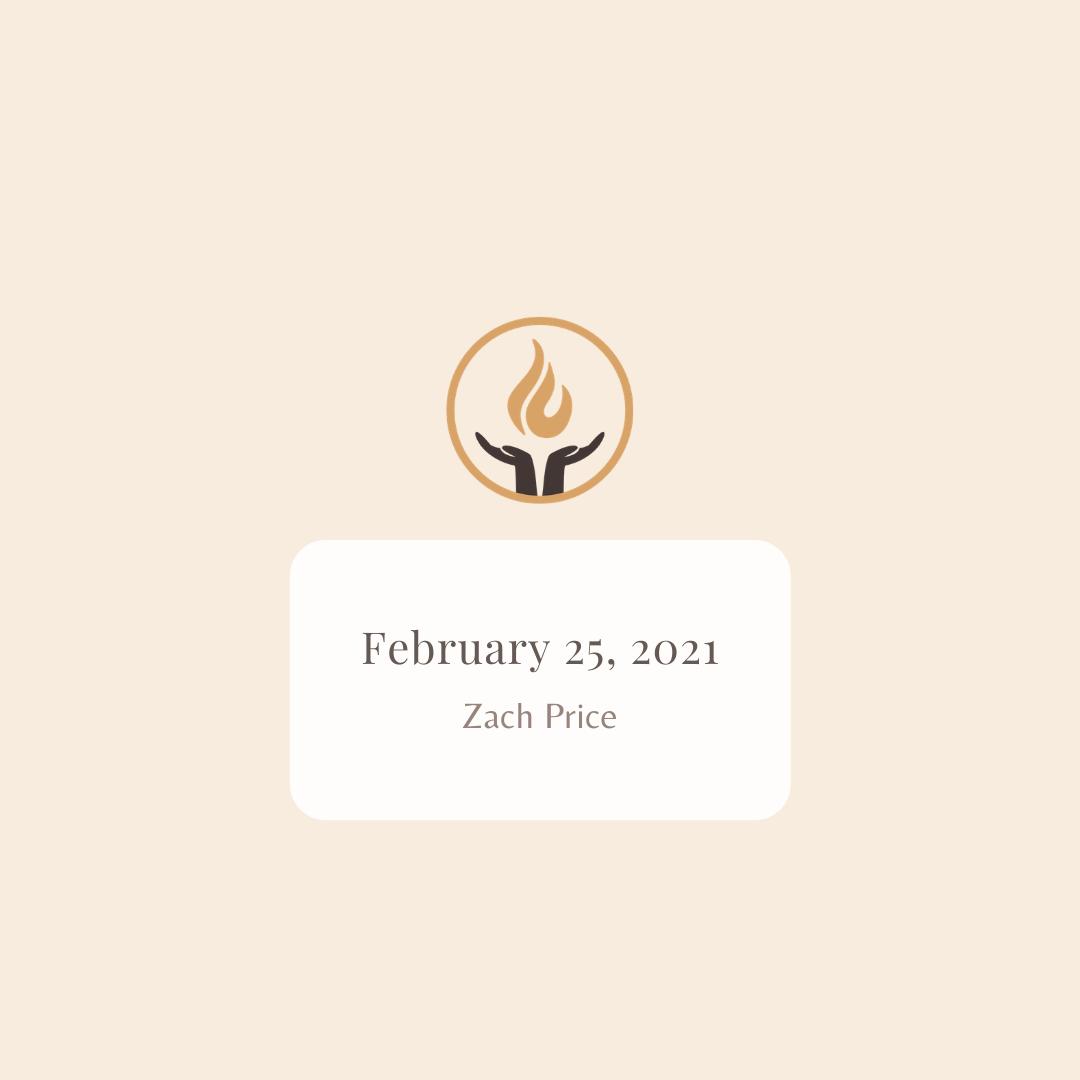 February 25 2021 Zach Price