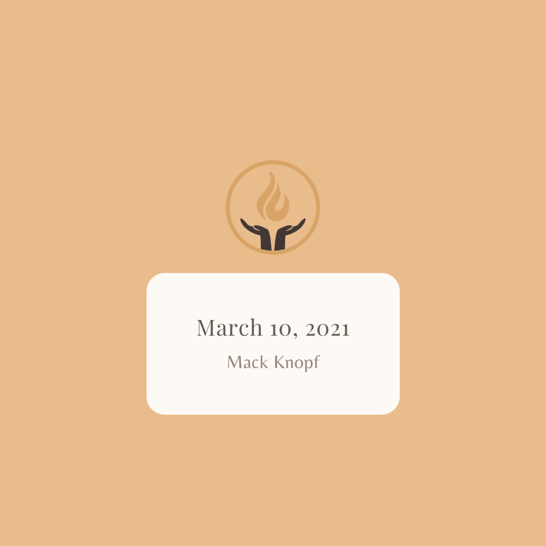 March 10 2021 Mack Knopf