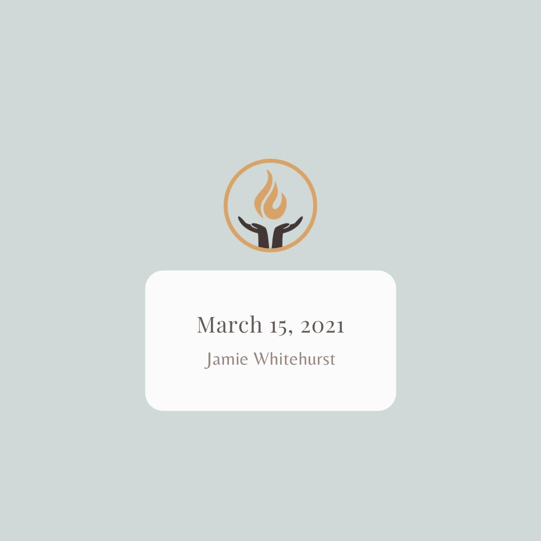 February 15 2021 Jamie Whitehurst
